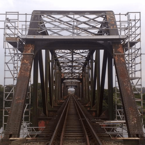 rail bridge aluminium